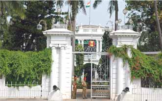 Governors House in Pondicherry