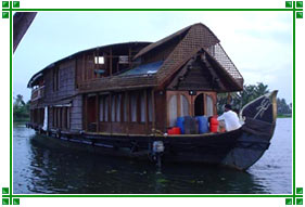Double Story Houseboat, Kerala